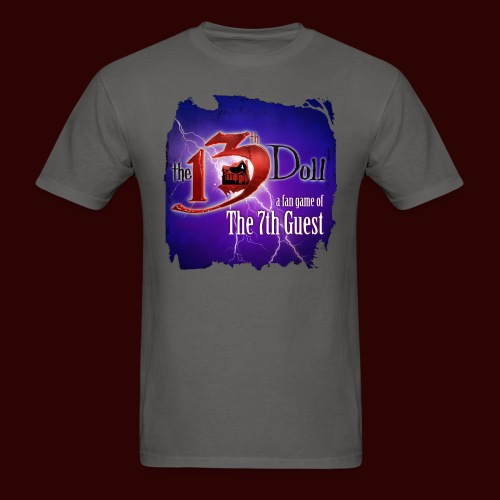 The 13th Doll Logo With Lightning - Men's T-Shirt
