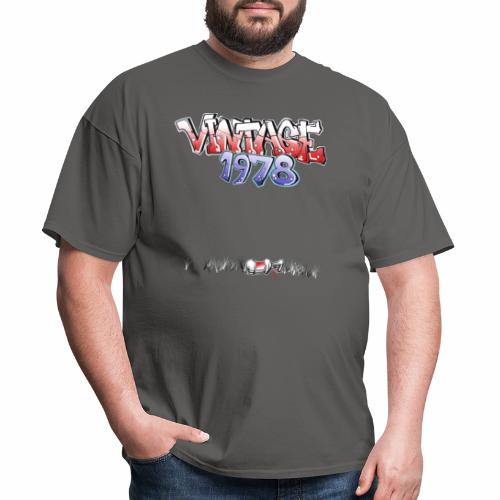 Vintage 1978 retro - Men's T-Shirt
