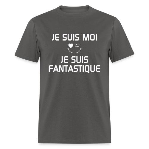 JeSuisMoiJeSuisFantastiqu - Men's T-Shirt