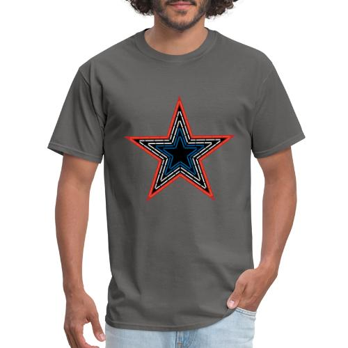 Roanoke Virginia Pride Mill Mountain Star - Men's T-Shirt