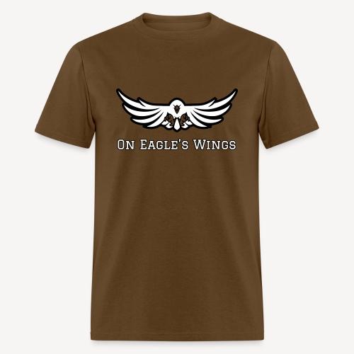 ON EAGLES WINGS - Men's T-Shirt