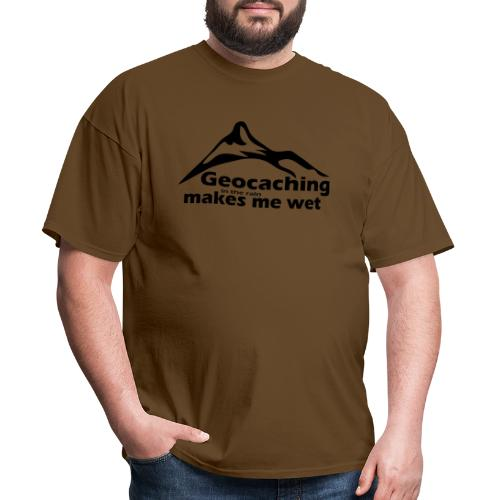 Wet Geocaching - Men's T-Shirt