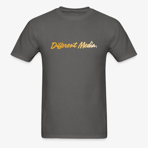 different media gold png - Men's T-Shirt