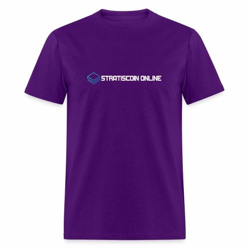 stratiscoin online light - Men's T-Shirt