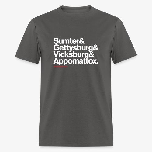 Civil War Battles - Men's T-Shirt
