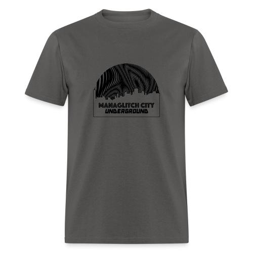 Managlitch Moire - Men's T-Shirt
