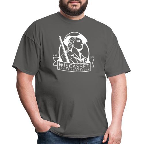 WCA Logo banner white line 1 - Men's T-Shirt