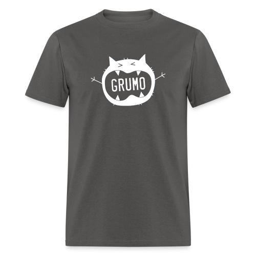 Grumo Growling (TEXT) - Men's T-Shirt