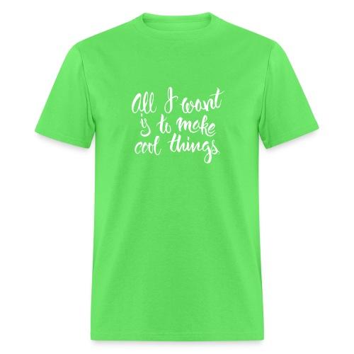 Cool Things White - Men's T-Shirt