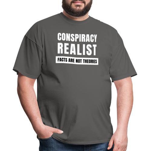 Conspiracy Realist - Men's T-Shirt