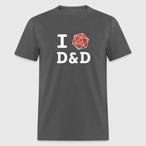 I DICE D&D - Men's T-Shirt
