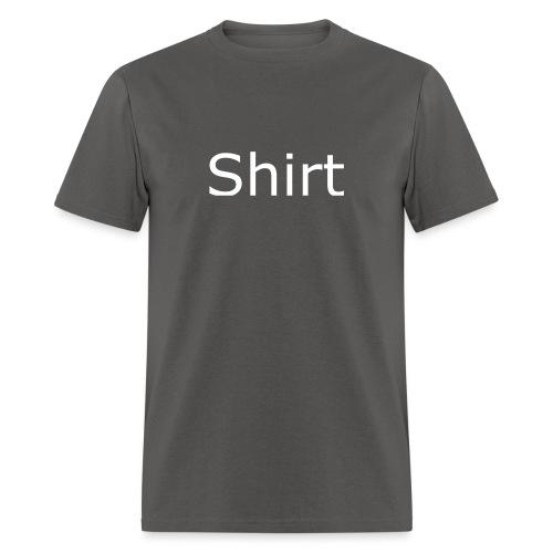 Shirt Shirt Black - Men's T-Shirt