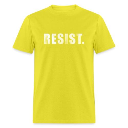 RESIST. - Men's T-Shirt