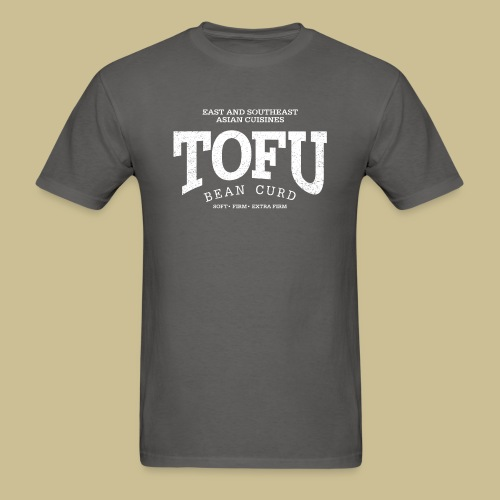 Tofu (white oldstyle) - Men's T-Shirt