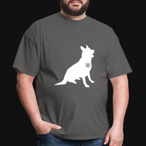 German Shepherd love - Men's T-Shirt