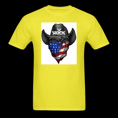 Eye rock cowboy Design - Men's T-Shirt