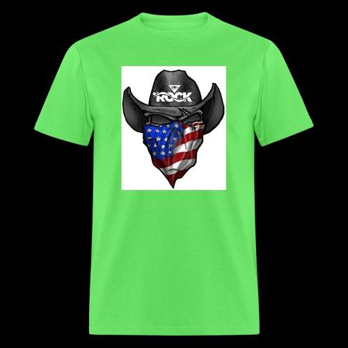 Eye rock cowboy Design - Men's T-Shirt