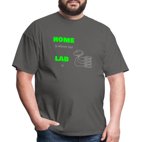 Home Is Where The Lab Is - Men's T-Shirt