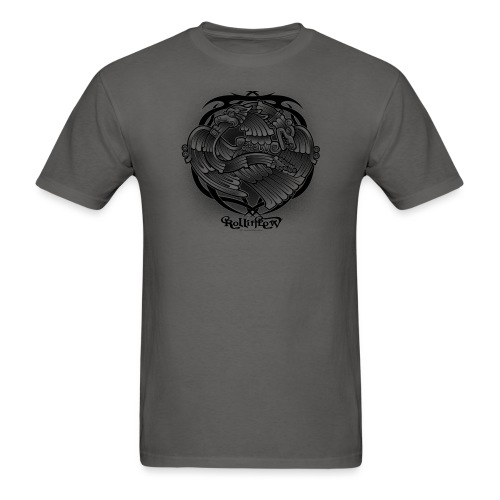 Tattoo Eagle by RollinLow - Men's T-Shirt