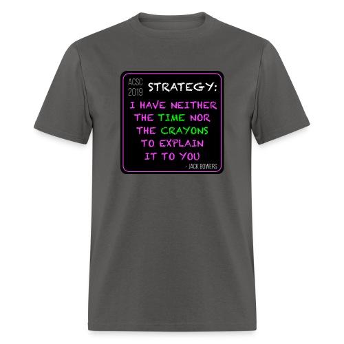 Strategy - Men's T-Shirt