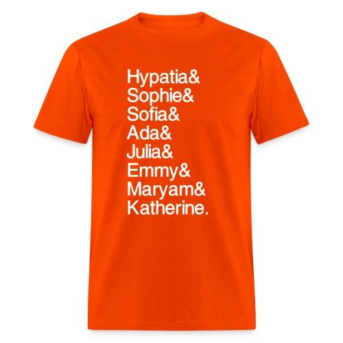 Women in Mathematics (no space before &) - Men's T-Shirt