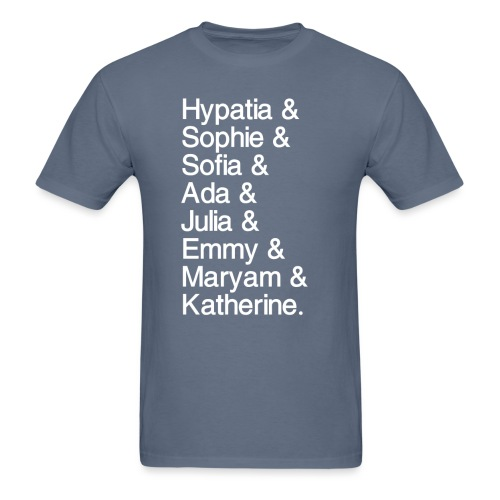 Women in Mathematics (with space before &) - Men's T-Shirt