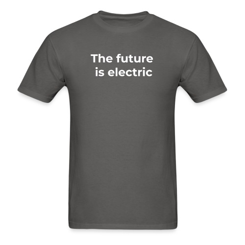 The future is electric - Men's T-Shirt