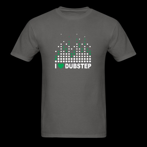 I heart dubstep - Men's T-Shirt