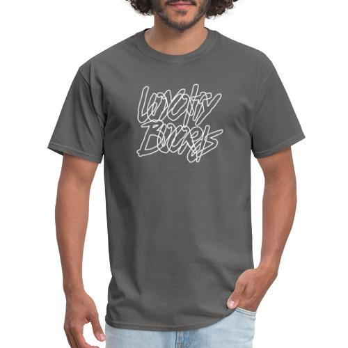 Loyalty Boards White Font - Men's T-Shirt