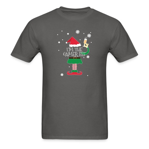 Im the gamer Elf Funny Christmas T-Shirt Gift - Men's T-Shirt