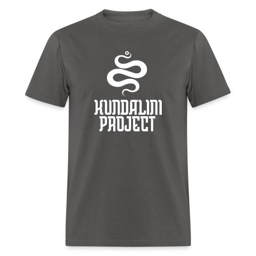 Kundalini white logo - Men's T-Shirt