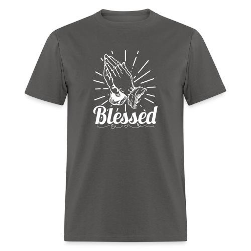 Blessed (White Letters) - Men's T-Shirt
