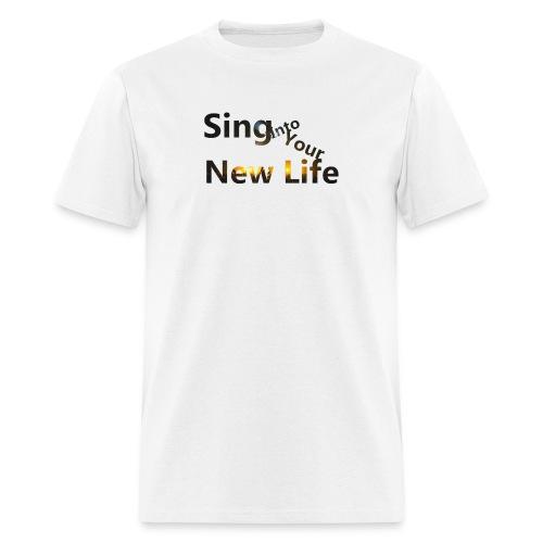 Sing in Brown - Men's T-Shirt
