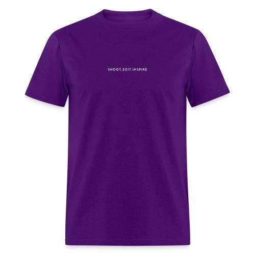shoot edit inspire large - Men's T-Shirt