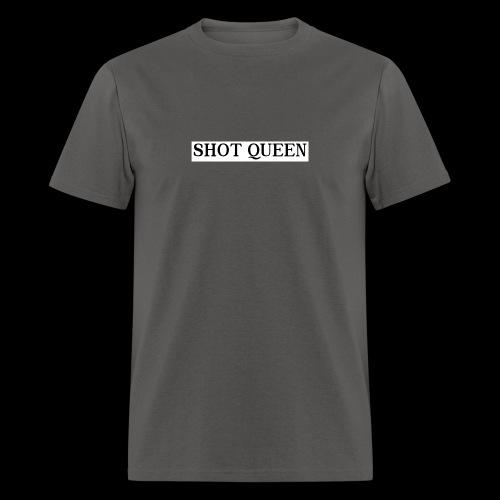 Shot Queen logo - Men's T-Shirt