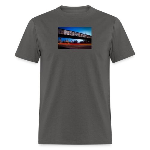 Husttle City Bridge - Men's T-Shirt