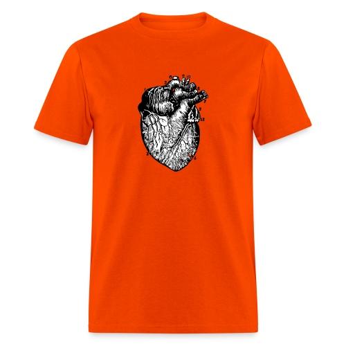 Big Heart - Vintage Medical Illustration - Men's T-Shirt