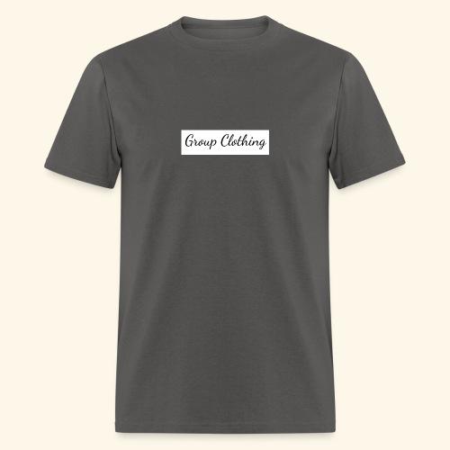 Cursive Black and White Hoodie - Men's T-Shirt