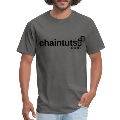 chaintuts.com Logo - Men's T-Shirt