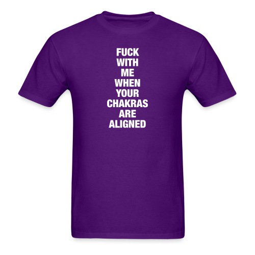Chakras Aligned - Men's T-Shirt