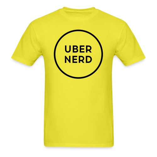uber nerd logo - Men's T-Shirt