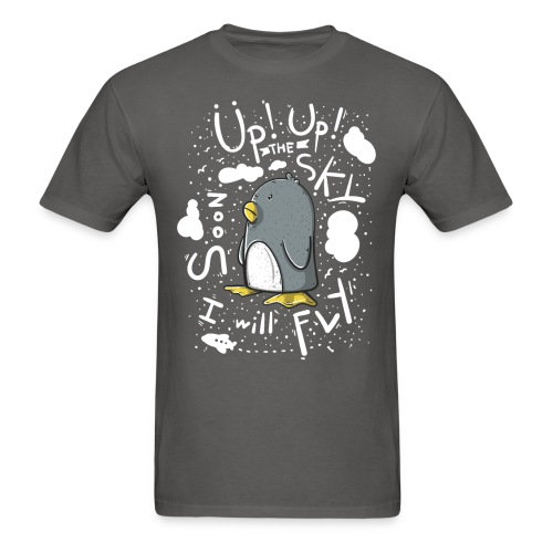 up up pinguin2 - Men's T-Shirt