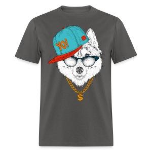 cool husky - Men's T-Shirt