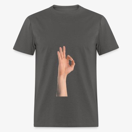 Ok sign - Men's T-Shirt