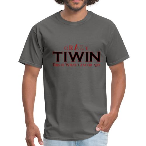 crazy TIWIN red - Men's T-Shirt