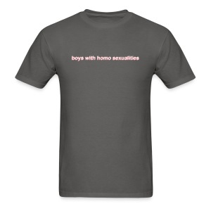 boys with homo sexualities - Men's T-Shirt