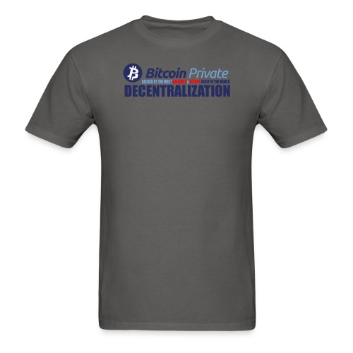 Bitcoin Private 001 - Men's T-Shirt