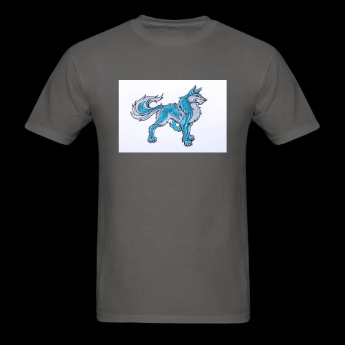 Draw Anime Wolves Intro - Men's T-Shirt