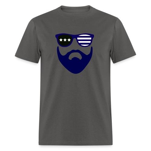 Blue beard-beard gang - Men's T-Shirt