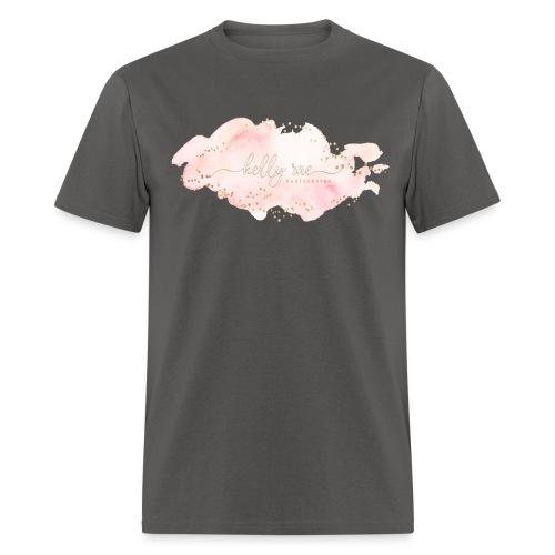 Pink Watercolor Splash - Men's T-Shirt